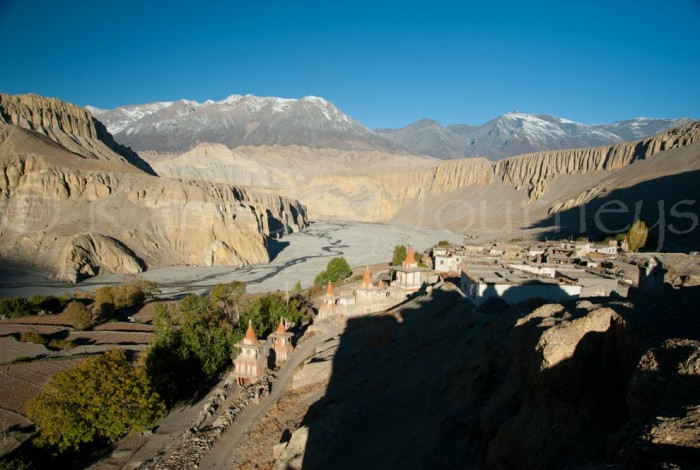 nepal-upper-mustang-tangge-village-views